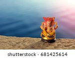 lord ganesha  | Shutterstock . vector #681425614