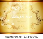 abstract pattern for design....   Shutterstock .eps vector #68142796