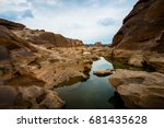 amazing of rocks  natural of... | Shutterstock . vector #681435628