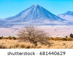 volc n licancabur and his... | Shutterstock . vector #681440629