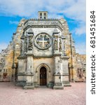 Rosslyn Chapel  Located At The...