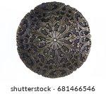 Ancient Copper Emblem Shield