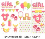 It Is A Girl Baby Shower Items...