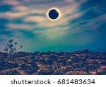 amazing scientific natural...   Shutterstock . vector #681483634