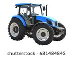 agricultural tractor   Shutterstock . vector #681484843