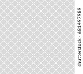 seamless pattern. geometric... | Shutterstock .eps vector #681497989