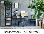 plants and botanical... | Shutterstock . vector #681518953