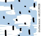 confetti seamless pattern.... | Shutterstock .eps vector #681519028
