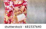 kimono women kimono is a... | Shutterstock . vector #681537640