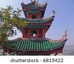 Precious Stone Pagoda Tower, China - stock photo