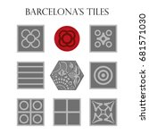 set of panots  hydraulic... | Shutterstock .eps vector #681571030