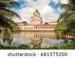 kolkata  india   july 15  2017  ... | Shutterstock . vector #681575200