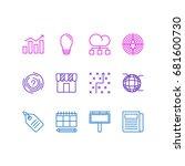 vector illustration of 12...   Shutterstock .eps vector #681600730