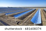 absorb solar concentrating... | Shutterstock . vector #681608374