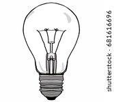 bulb | Shutterstock . vector #681616696