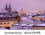 Winter In Prague   City...
