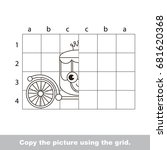 finish the simmetry picture...   Shutterstock .eps vector #681620368