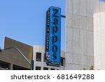 las vegas   circa july 2017 ... | Shutterstock . vector #681649288