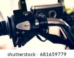 close up motorcycle | Shutterstock . vector #681659779