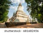 wat phnom pagoda in phnom penh... | Shutterstock . vector #681682456