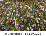floating market | Shutterstock . vector #681691228