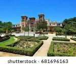 seville place | Shutterstock . vector #681696163