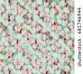 abstract color seamless pattern ... | Shutterstock .eps vector #681746944