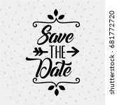 save the date special | Shutterstock .eps vector #681772720