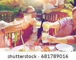 leisure  holidays  eating ... | Shutterstock . vector #681789016