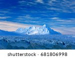 land of ice. travelling in... | Shutterstock . vector #681806998