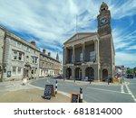 newport  isle of wight  uk.... | Shutterstock . vector #681814000