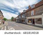 newport  isle of wight  uk.... | Shutterstock . vector #681814018
