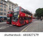 london  uk   circa june 2017 ... | Shutterstock . vector #681827179
