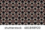 abstract background with...   Shutterstock . vector #681848920