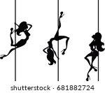 vector illustration of stylized ... | Shutterstock .eps vector #681882724