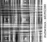 abstract grunge texture black... | Shutterstock . vector #681902380