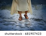 Jesus Walking On The Water With ...