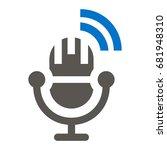 microphone vector icon.