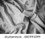 fabric wrinkled | Shutterstock . vector #681991099