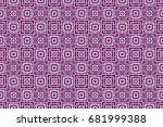 seamless geometric pattern ... | Shutterstock .eps vector #681999388
