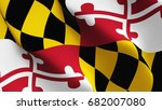 maryland united states of... | Shutterstock . vector #682007080