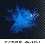 vector illustration of smoky... | Shutterstock .eps vector #682013476