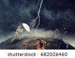 strong enough to challenge it . ... | Shutterstock . vector #682026460
