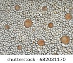 white stone wall background | Shutterstock . vector #682031170