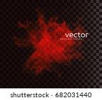 vector illustration of smoky... | Shutterstock .eps vector #682031440