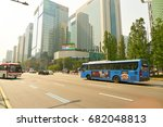 seoul  south korea   circa may  ... | Shutterstock . vector #682048813