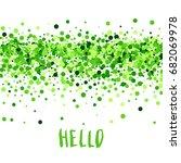 hello summer vector creative... | Shutterstock .eps vector #682069978