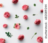 flower background concept | Shutterstock . vector #682089244
