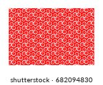 vector pattern with swirling... | Shutterstock .eps vector #682094830