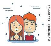 people vector illustration | Shutterstock .eps vector #682104478